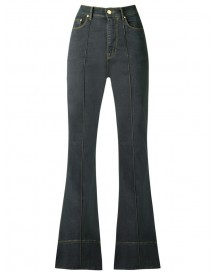 Amapô - High Waist Flared Jeans - Women - Cotton/elastodiene - 44 afbeelding