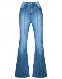 Amapô - High Waist Flared Jeans - Women - Cotton/elastodiene - 46 afbeelding