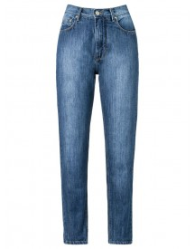 Amapô - High Waist Straight Jeans - Women - Cotton - 38 afbeelding