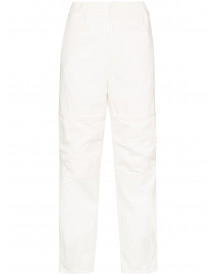 Ambush High Waist Jeans - Wit afbeelding