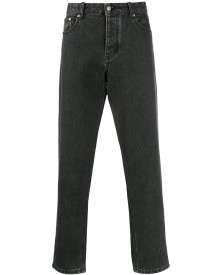 Ami Cropped Jeans - Zwart afbeelding