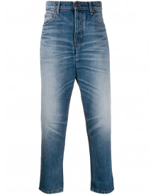 Ami Jeans In Carrot-fit - Blauw afbeelding