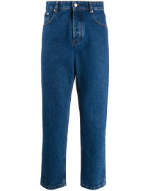 Ami Straight Jeans - Blauw afbeelding