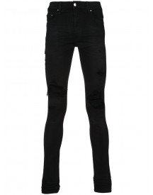 Amiri - Distressed Skinny Jeans - Men - Cotton/spandex/elastane - 32 afbeelding
