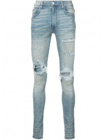 Amiri - Distressed Skinny Jeans - Men - Cotton/spandex/elastane - 36 afbeelding