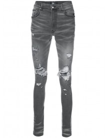 Amiri - Distressed Skinny Jeans - Men - Cotton/spandex/elastane - 38 afbeelding