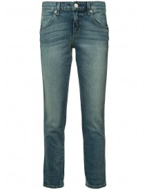 Amo - Cropped Skinny Jeans - Women - Acetate/cotton/spandex/elastane - 30 afbeelding