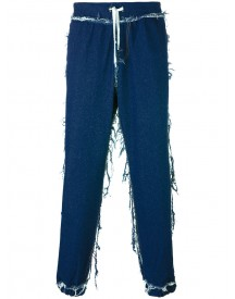 Andrea Crews - Cuffed Straight Jeans - Men - Cotton - S afbeelding