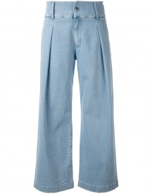 Andrea Ya'aqov - Flared Jeans - Women - Cotton - M afbeelding