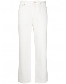 A.p.c. Cropped Jeans - Wit afbeelding