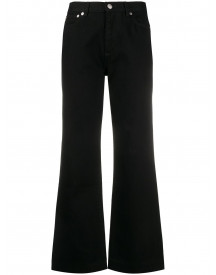 A.p.c. Cropped Jeans - Zwart afbeelding