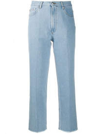 A.p.c. Cropped Jeans - Blauw afbeelding