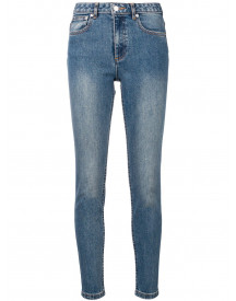 A.p.c. Washed Skinny Jeans - Blauw afbeelding