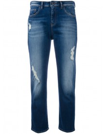 Armani Jeans - Cropped Jeans - Women - Cotton/spandex/elastane - 25 afbeelding