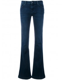 Armani Jeans - Flared Jeans - Women - Cotton/polyester/spandex/elastane - 29 afbeelding