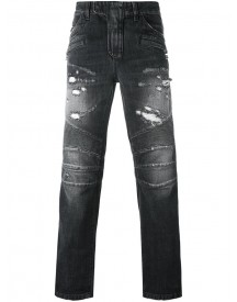 Balmain - Biker Jeans - Men - Cotton - 32 afbeelding