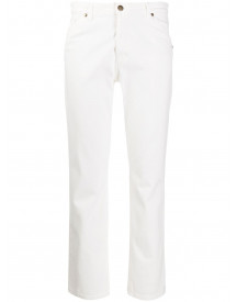 Ba&sh Mid Rise Jeans - Wit afbeelding