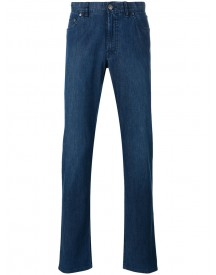 Brioni - Slim-fit Jeans - Men - Cotton/spandex/elastane - 33 afbeelding