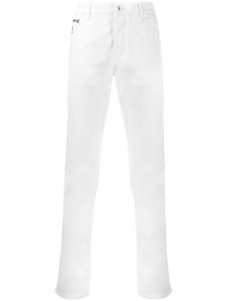 Brunello Cucinelli Slim-fit Jeans - Wit afbeelding