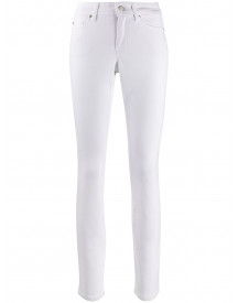 Cambio Skinny Jeans - Wit afbeelding