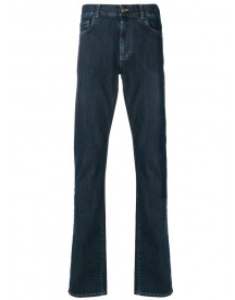 Canali - Classic Jeans - Men - Cotton/spandex/elastane - 52 afbeelding