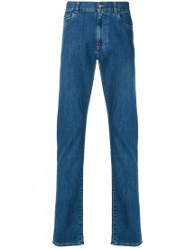 Canali - Classic Jeans - Men - Cotton/spandex/elastane - 54 afbeelding