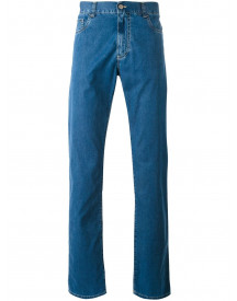 Canali Regular-fit Jeans - Blauw afbeelding
