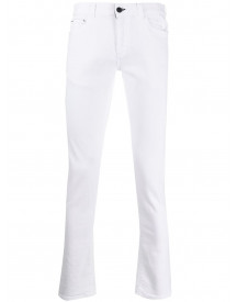 Canali Skinny Jeans - Wit afbeelding