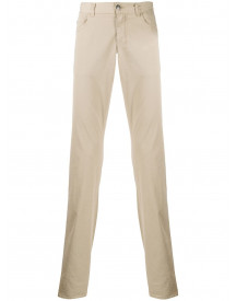 Canali Slim-fit Jeans - Nude afbeelding
