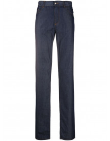 Canali Straight Jeans - Blauw afbeelding