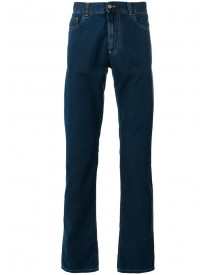 Canali - Straight Leg Jeans - Men - Cotton/polyester - 54 afbeelding