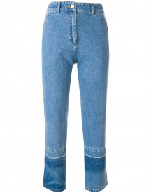 Christian Wijnants Cropped Jeans - Blauw afbeelding