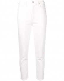 Citizens Of Humanity Cropped Jeans - Wit afbeelding