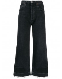 Citizens Of Humanity Cropped Jeans - Zwart afbeelding