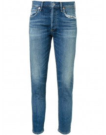 Citizens Of Humanity Cropped Skinny Jeans - Blauw afbeelding