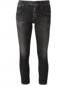 Citizens Of Humanity - Cropped Slim Jeans - Women - Cotton/polyurethane - 24 afbeelding