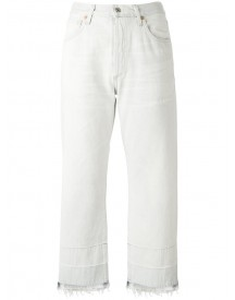Citizens Of Humanity - Cropped Straight Jeans - Women - Cotton - 29 afbeelding