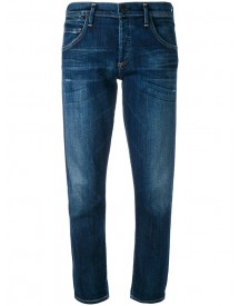 Citizens Of Humanity - Cropped Straight Leg Jeans - Women - Cotton/polyurethane - 26 afbeelding