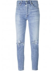 Citizens Of Humanity - Distressed Skinny Jeans - Women - Cotton/rayon - 31 afbeelding