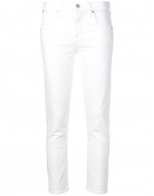 Citizens Of Humanity Elsa Mid-rise Jeans - Wit afbeelding