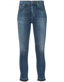 Citizens Of Humanity - Faded Cropped Jeans - Women - Cotton/spandex/elastane - 24 afbeelding