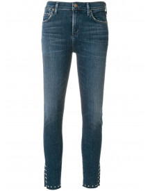 Citizens Of Humanity Jeans Met Slim-fit Uitsparing - Blauw afbeelding