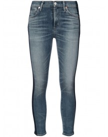 Citizens Of Humanity - Jeans With Vertical Stripes - Women - Cotton/spandex/elastane - 26 afbeelding