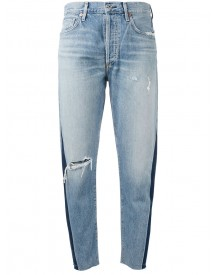 Citizens Of Humanity - Liya Faded High Rise Jeans - Women - Cotton/lyocell - 28 afbeelding
