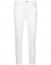 Citizens Of Humanity Relaxed Crop Jeans - Wit afbeelding
