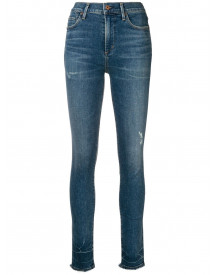 Citizens Of Humanity Skinny Jeans Met Hoge Taille - Blauw afbeelding