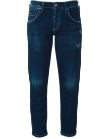 Citizens Of Humanity - Slim-fit Cropped Jeans - Women - Cotton/polyurethane - 26 afbeelding