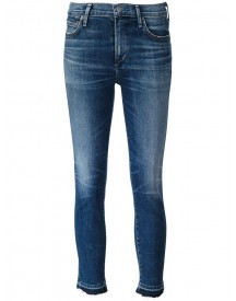 Citizens Of Humanity - Stonewashed Cropped Jeans - Women - Cotton/polyurethane - 29 afbeelding