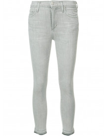 Citizens Of Humanity Super Skinny Cropped Jeans - Grijs afbeelding