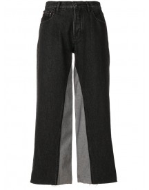 Ck Jeans - Cropped High-rise Jeans - Women - Cotton - 29 afbeelding